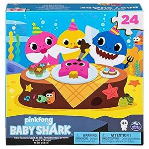 Cardinal Games 6053614 Baby Shark 24pc Puzzle