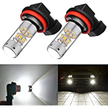BOGAO High Power 3000 lúmenes 3030 SMD Super extremadamente brillante 6000K blanco H11LL H8LL H11 H8