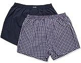 Ceceba Herren Boxershorts Web - Shorts, 2er Pack, Mehrfarbig, Gr. X-Large (Herstellergröße: XL/7), Blau (navy-tango 8386)