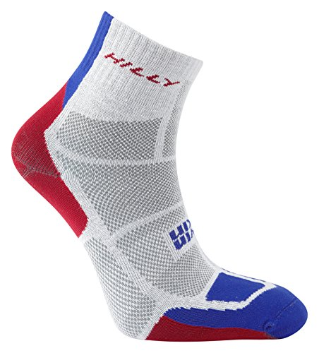 hilly-mens-twin-skin-anklet-running-socks-grey-electric-blue-red-x-large