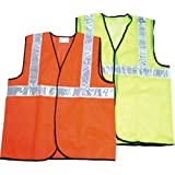 #3: Nice Safety Dot Reflector Jacket with 2 IN Silver Stripe