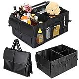 Kofferraumtasche, Tvird kofferraum Organizer Auto, Kofferraumtasche mit klett, Kofferraumtasch faltbar, Universale Aufbewahrung Taschen, Praktisch und wasserdicht