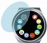 Samsung Gear S2 (4 Stück) PREMIUM Displayschutzfolie Bildschirmschutzfolie ANTIREFLEX Schutzhülle Displayschutz Displayfolie Folie