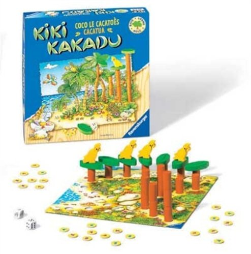 Ravensburger - Kiki Kakadu Holzspiele
