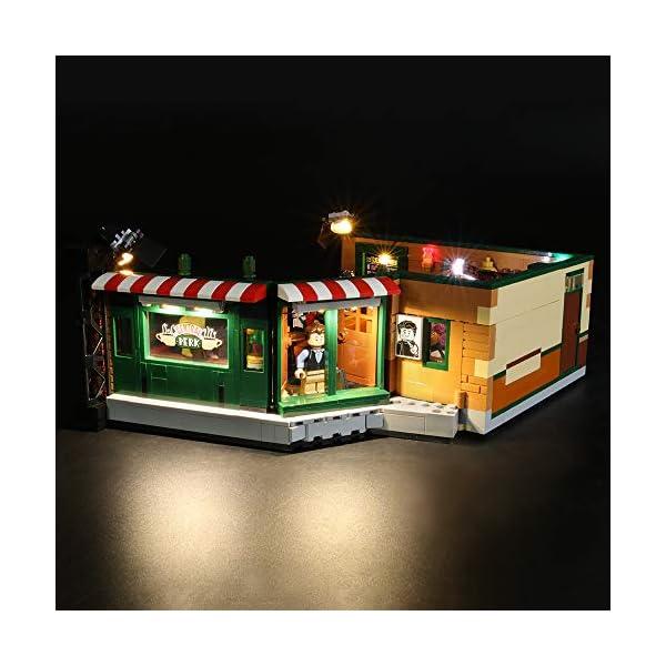 BRIKSMAX Kit di Illuminazione a LED per Lego Idee Central Perk,Compatibile con Il Modello Lego 21319 Mattoncini da… 3 spesavip