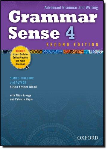 Grammar sense. Student's book. Per le Scuole superiori. Con espansione online: 4