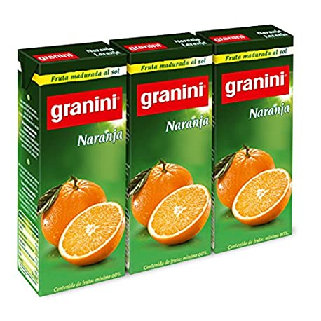 Granini Zumo Nectar Naranja Minibrick 3 x 0 2 L