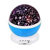 InnooTech Sternen Nachtlicht 360 Grad drehbaren Star Rotierender Projektor LED-Lampe