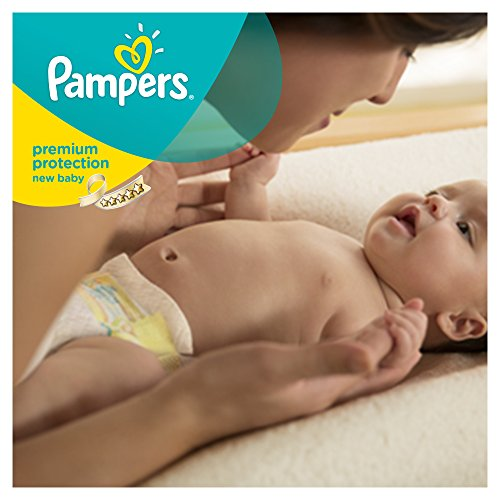 Pampers Windeln New Baby Gr. 1 Newborn 2-5 kg Tragepack, 4er Pack (4 x 23 Stück) - 7