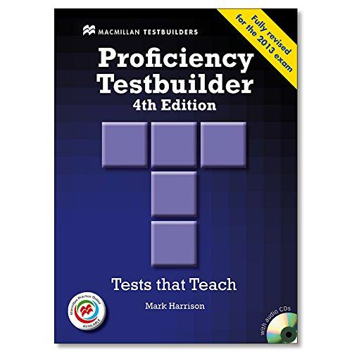 PROFICIENCY TESTBUILDER -Key MPO Pk 2013 Testbuilder