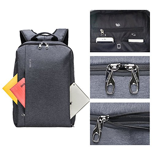 Imagen de slotra  viaje business, impermeable para portátil  con compartimento para portátil y anti thief cremallera oculta, t 31&67 7 alternativa