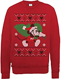 Brands In Limited Mickey Mouse Christmas Tree-sudadera Mujer