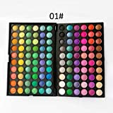 120 Farben Eyeshadow Lidschatten-Palette Makeup Kit Set Make Up Professional Box