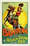 Rough Ridin' Red Movie Poster (27,94 x 43,18 cm)