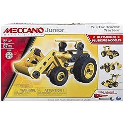 Meccano - 6027019 - Jeu de Construction - Tracteur Meccano Junior