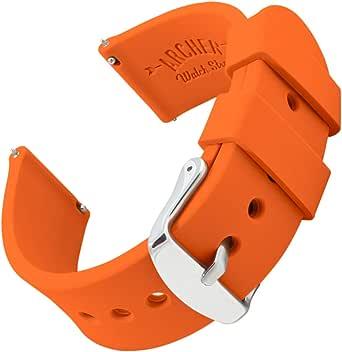 Archer Watch Straps - Ricambio di Cinturino di Silicone, Sgancio Rapido per Orologi e Smartwatch - Vari Colori