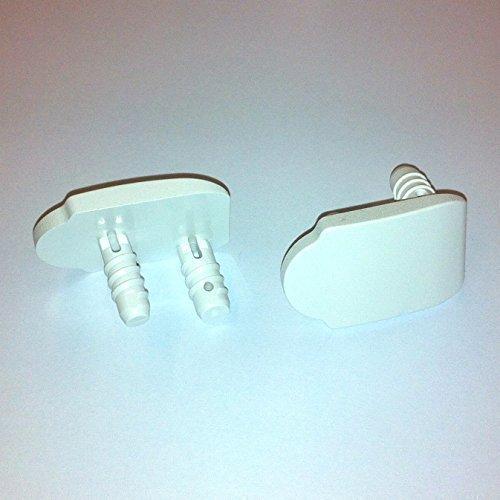 VELUX Montageträger Pick&Click oder Loch/Schlitz weiss oder grau (Pick&Click ab Nov.2003, weiss)