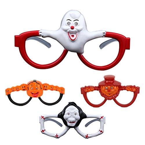 m Brillen Party Blinkende Brille lustig Brillen rahmen (zufällige Stil) (Light Up Kürbis Dekorationen)