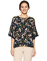 DJ&C By FBB Women's Floral Regular Fit Vest Top