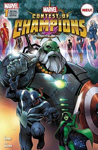 Contest of Champions - Sturm der Superhelden: Bd. 1: Ring ()