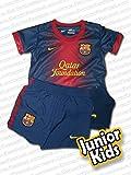 Nike Baby Dreiteiler FC Barcelona Infants Home Kit (3-36 Monate) Traillaufschuhe, Mehrfarbig (Black/Metallic Silver/Dark Grey/White 001), 44.5 EU