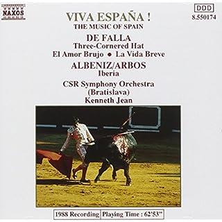 Viva Espana! Three Cornered Hat/Iberia (Csr So/Jean)