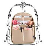 Luxja Taschenorganizer Filz, Bag in Bag Organizer, Taschenorganizer für Rucksack, Filz Organizer Tasche Groß Genug für A4-Papier, Khaki