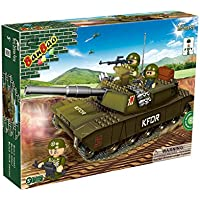 A Challenging Building Gift for Boys Age 5+ Ideal Birthday or Xmas Present. Top Selling 120 Piece Military FV Tank & 4 ToBee Mini Figures - Intergrate With Other Leading Brands - Compare prices on radiocontrollers.eu