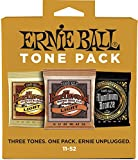 Ernie Ball p03314 Cordes pour Guitare Acoustique Light Tone Lot