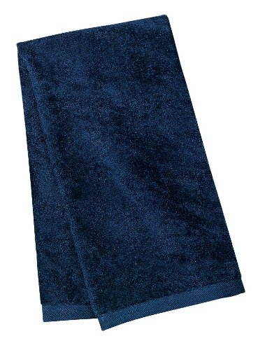 port-authority-sport-serviette-coton-bleu-marine-taille-unique