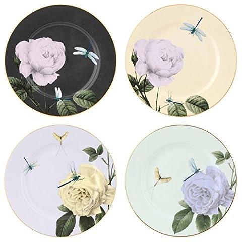 Ted Baker - Portmeirion Rosie Lee Assorted Salad Plate Set of 4