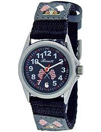 Bonett Boys Watch - Quartz Analogue, Nylon bracelet, Racecar - 1268S