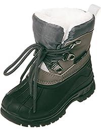 Playshoes Unisex-Kinder Winterstiefel mit Warmfutter Schneestiefel