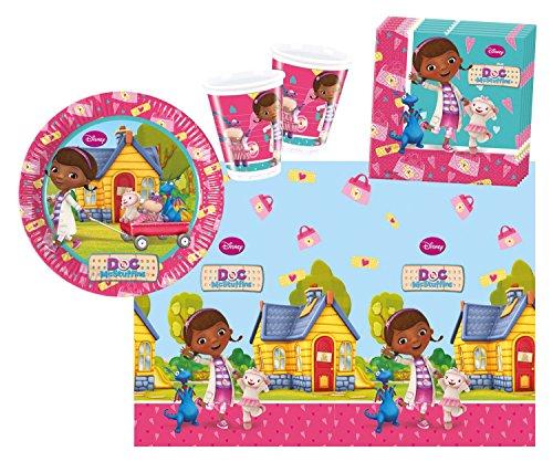 Preisvergleich Produktbild Procos 10108565B - Kinderpartyset - Doc McStuffins - Sunny Days, Größe S, 37-teilig