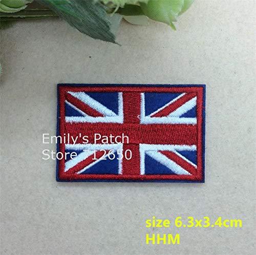 ASTONISH - 10 Parches Bordados Planchar diseño Bandera