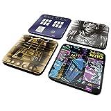 Best Doctor Evers - DOCTOR WHO CSP0009 Tardis/Cyberman/Dalek/Comic Coaster Set Review