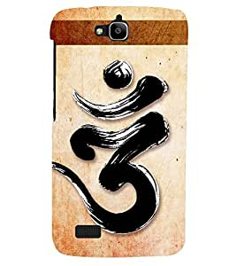 PRINTSHOPPII LORD OM SIGN Back Case Cover for Huawei Honor Holly::Honor Holly