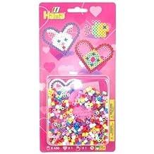 Hama Beads - Hearts and Fish Kit (Midi Beads) by Hama