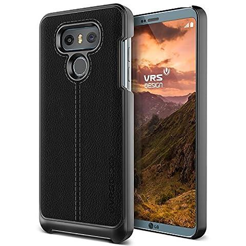 Vente Bourses - Coque LG G6, VRS Design® [Noir] Housse