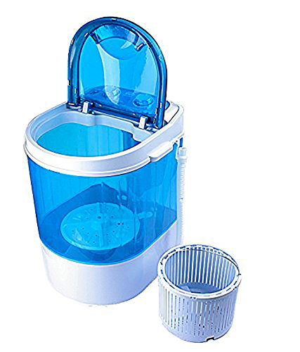 Nano Wash 3 Kg Portable Mini Washing Machine With Dryer Basket