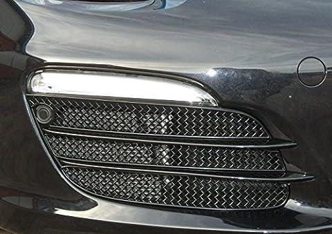 Porsche Boxster 981 - Ensemble calandre extérieur (avec capteurs de stationnement) - Finition argent (2012 to 2014)