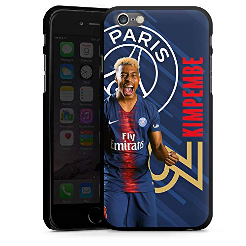 DeinDesign Apple iPhone 6s Coque Étui Housse Paris Saint-Germain Produit sous Licence Officielle Kimpembe