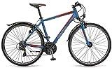 Winora Grenada 28 Zoll Trekkingrad Blau/Rot Matt (2016), 56