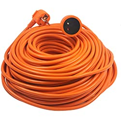 Prolongateur 16A HO5VV-F 2x1,5 Orange 50m