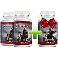 Horlaxen - Muskelwachstums-Mittel für effektiven Muskelaufbau   Kaufe 2 Flaschen und erhalte 1 gratis dazu   (3 Flaschen)