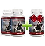 Horlaxen - Muskelwachstums-Mittel für schnellen Muskelaufbau und Fettabbau | Jetzt 3 Flaschen zum Preis von 2 kaufen | (3 Flaschen)