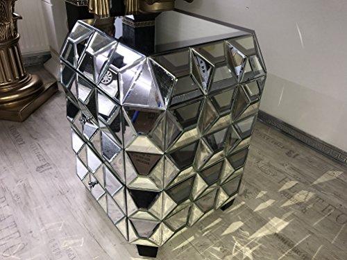 Möbel aus Spiegelglas Konsole mit Spiegel Kommode Vintage Shabby Landhaus Anrichte Medusa Barock Sidebord Retro !!! TOP ANGEBOT !!!