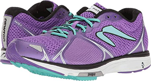 Newton Running Women's Fate II Shoe, Zapatillas de Running para Mujer, Morado (Purple/Blue), 38 EU