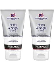 Neutrogena Norwegische Formel Hand und Nagel Crème, 2er Pack (2 x 75 ml)