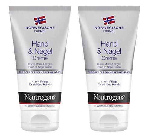 Neutrogena Norwegische Formel Hand & Nagel Creme, 2 x 75ml